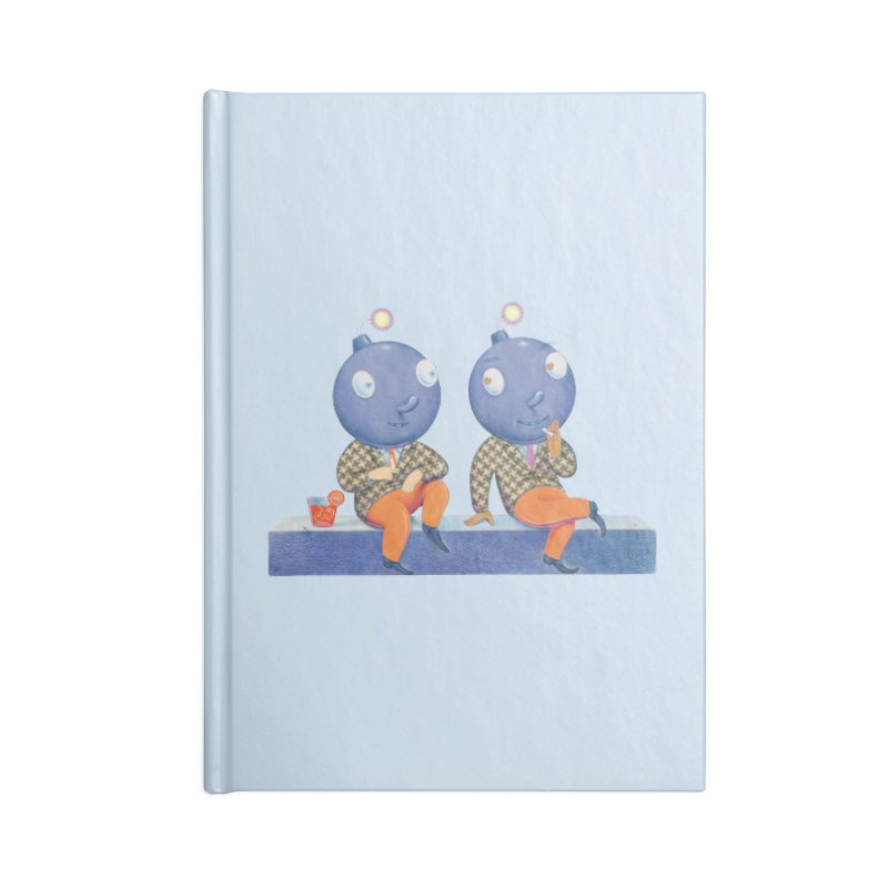 Enjoy It While You Can Accessories Lined Journal Notebook by Dave Calver's Shop