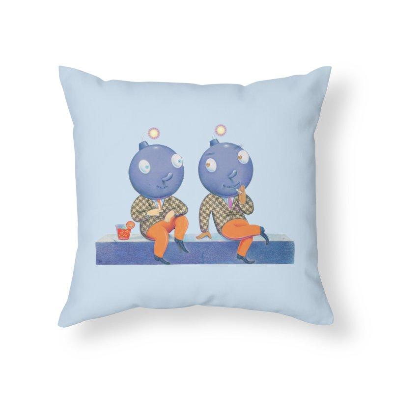 Enjoy It While You Can Home Throw Pillow by Dave Calver's Shop