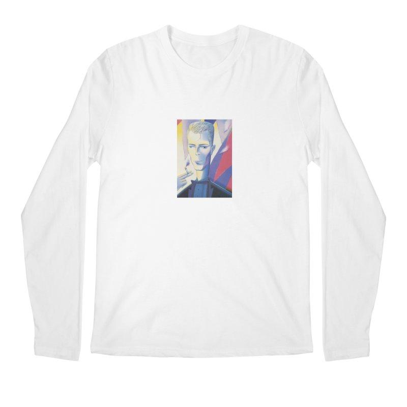 David Bowie Men's Regular Longsleeve T-Shirt by Dave Calver's Shop