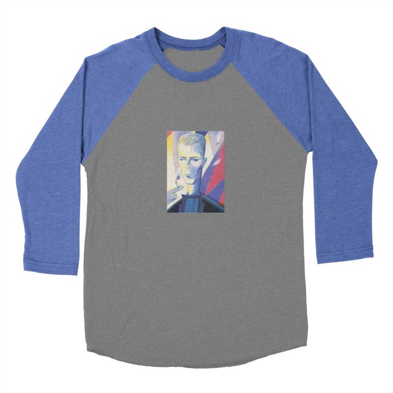David Bowie Women's Baseball Triblend Longsleeve T-Shirt by Dave Calver's Shop