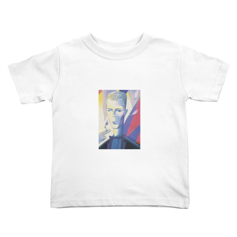 David Bowie Kids Toddler T-Shirt by Dave Calver's Shop