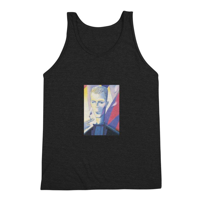 David Bowie Men's Triblend Tank by Dave Calver's Shop