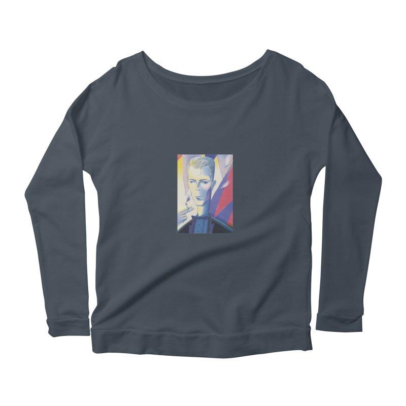 David Bowie Women's Longsleeve T-Shirt by Dave Calver's Shop