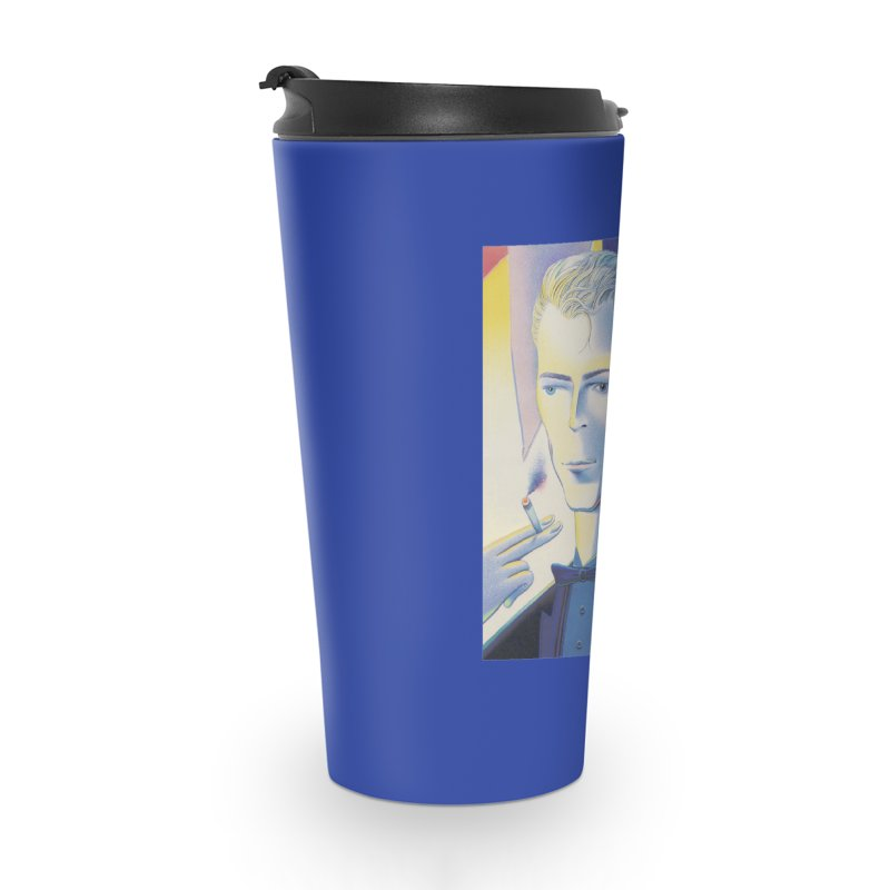 David Bowie Accessories Travel Mug by Dave Calver's Shop
