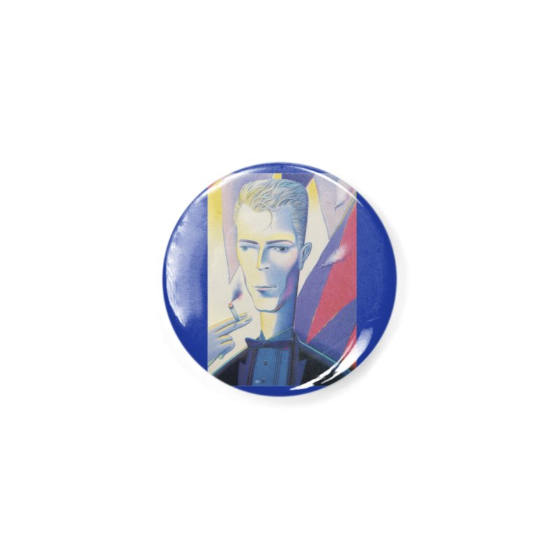 David Bowie Accessories Button by Dave Calver's Shop