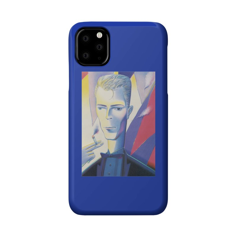 David Bowie Accessories Phone Case by Dave Calver's Shop