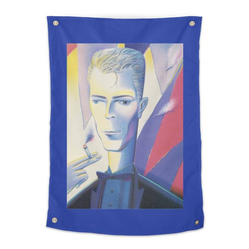 David Bowie Home Tapestry by Dave Calver's Shop
