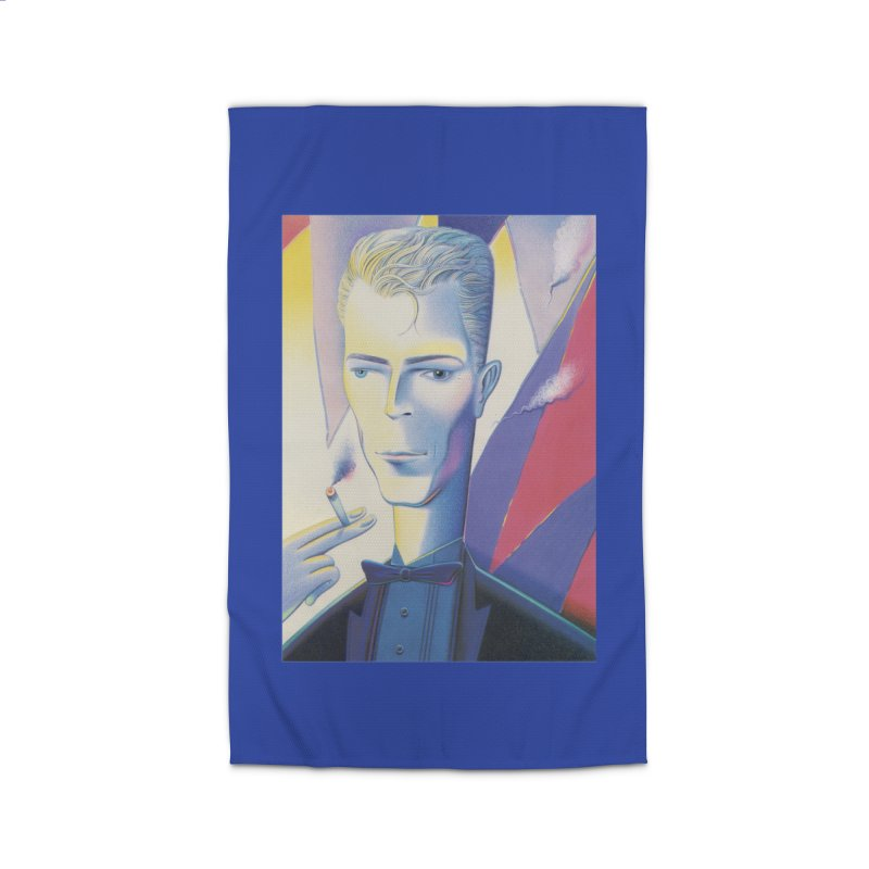 David Bowie Home Rug by Dave Calver's Shop