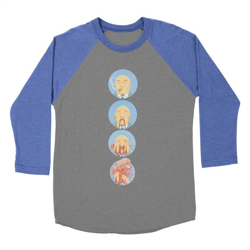 He's Gotta Go... Women's Baseball Triblend Longsleeve T-Shirt by Dave Calver's Shop