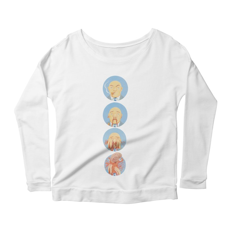 He's Gotta Go... Women's Scoop Neck Longsleeve T-Shirt by Dave Calver's Shop