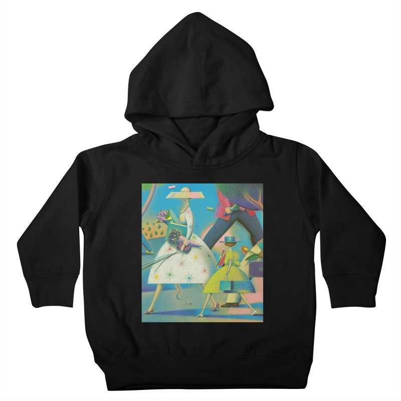 Mother and Daughter Kids Toddler Pullover Hoody by Dave Calver's Shop