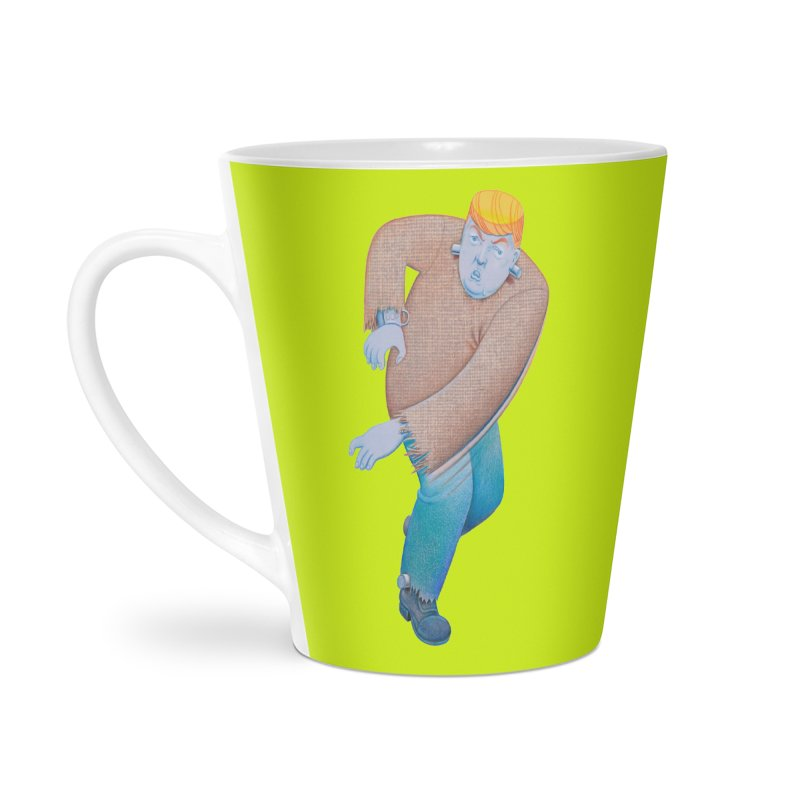 Trumpenstein Accessories Latte Mug by Dave Calver's Shop