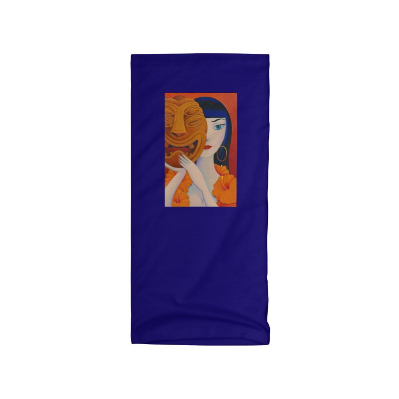 Tura With Mask Accessories Neck Gaiter by Dave Calver's Shop