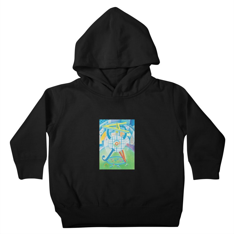 Alphabet City Kids Toddler Pullover Hoody by Dave Calver's Shop