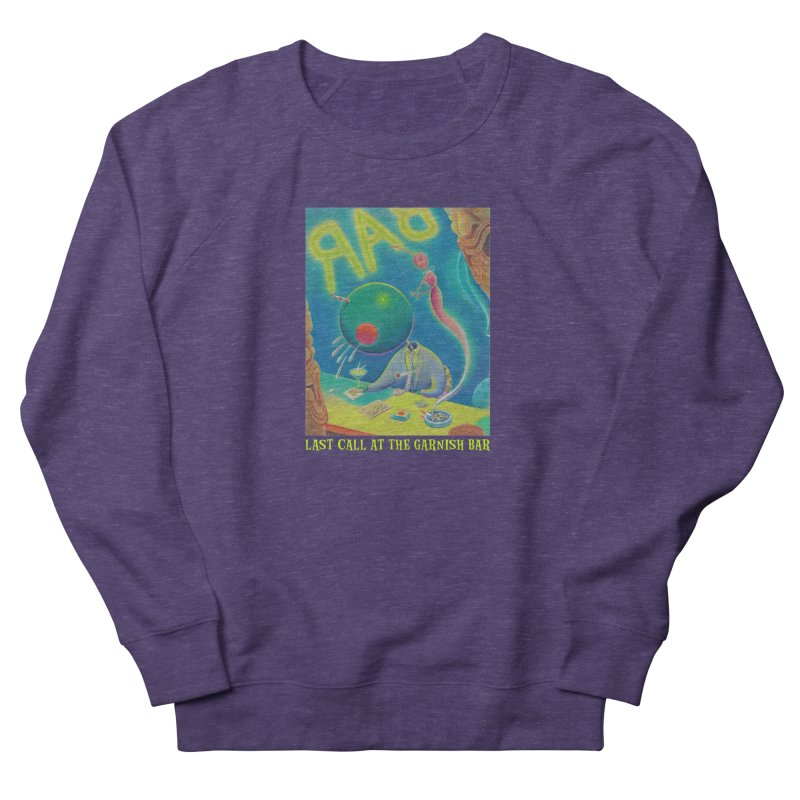 Last Call At The Garnish Bar (with title) Men's French Terry Sweatshirt by Dave Calver's Shop