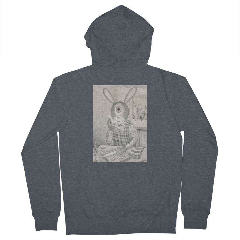 Good News, Bad News Women's French Terry Zip-Up Hoody by Dave Calver's Shop