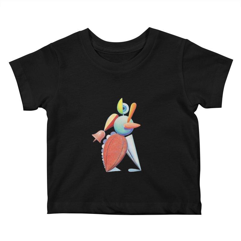 Triadic Dancer Kids Baby T-Shirt by Dave Calver's Shop