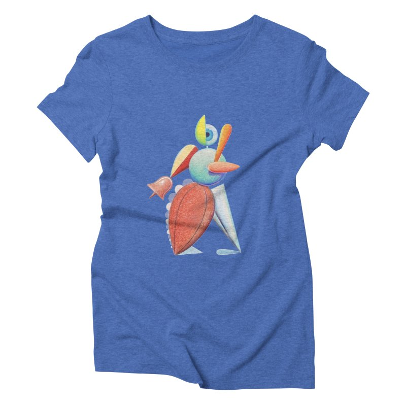 Triadic Dancer Women's Triblend T-Shirt by Dave Calver's Shop