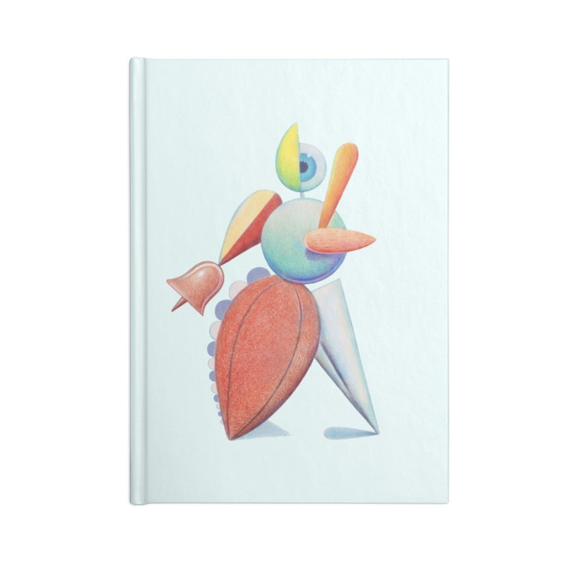 Triadic Dancer Accessories Lined Journal Notebook by Dave Calver's Shop