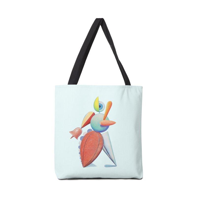 Triadic Dancer Accessories Tote Bag Bag by Dave Calver's Shop