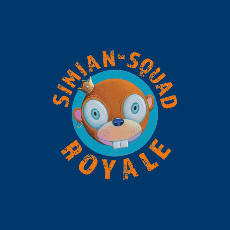 Simian-Squad Royale Men's Zip-Up Hoody by Dave Calver's Shop