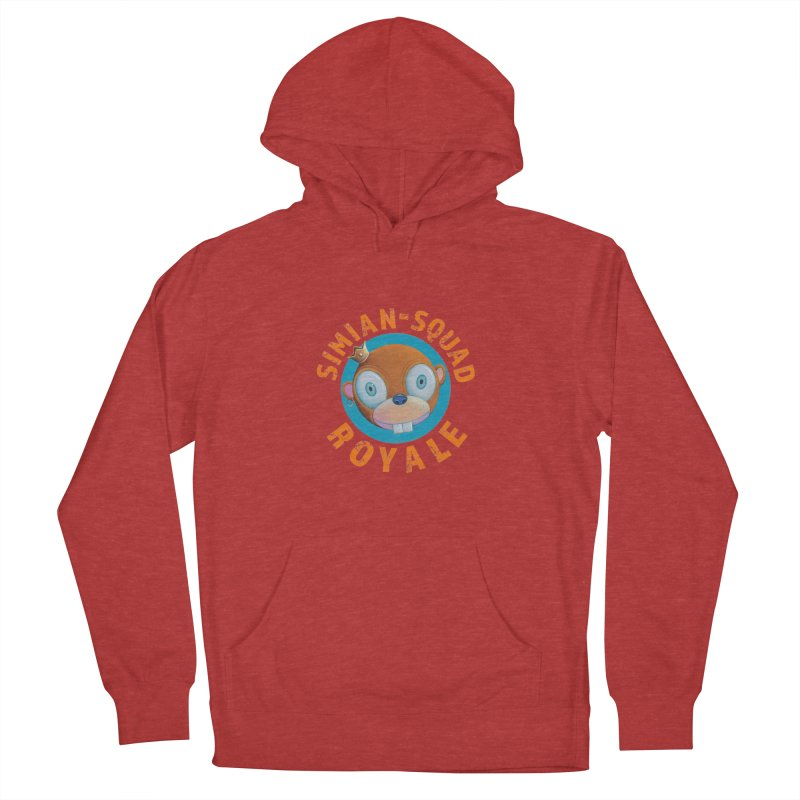 Simian-Squad Royale Men's French Terry Pullover Hoody by Dave Calver's Shop