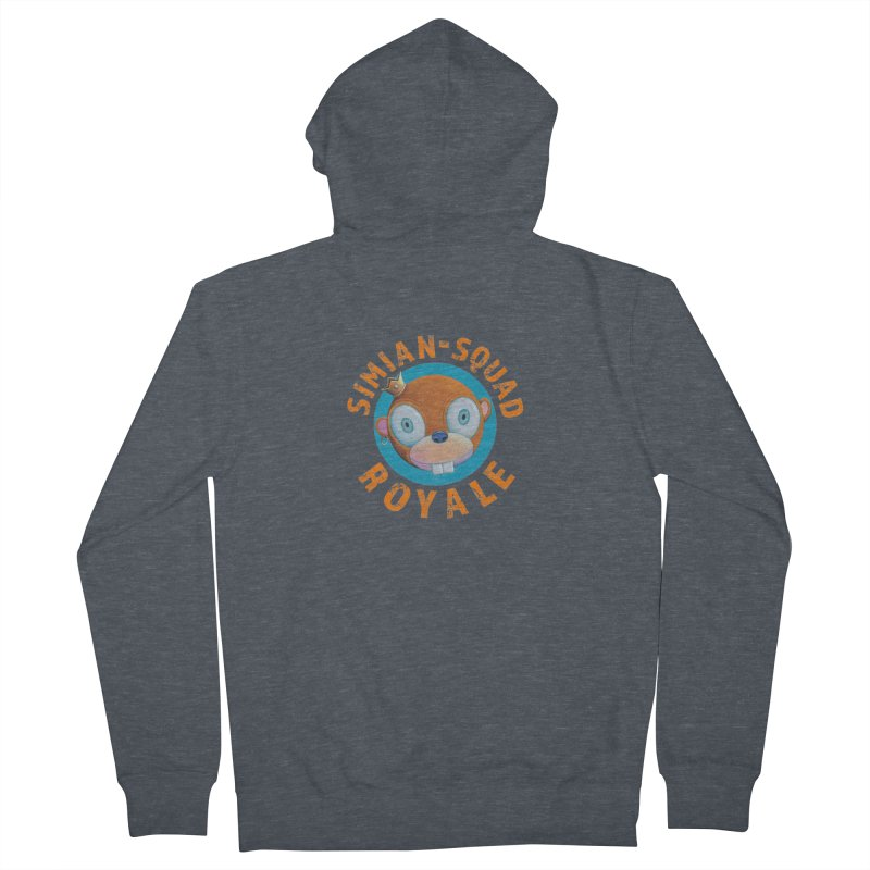 Simian-Squad Royale Women's French Terry Zip-Up Hoody by Dave Calver's Shop