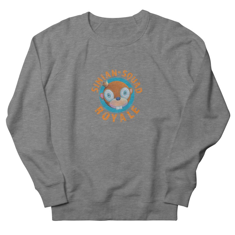 Simian-Squad Royale Women's French Terry Sweatshirt by Dave Calver's Shop