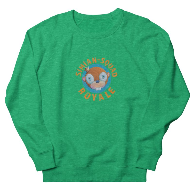 Simian-Squad Royale Men's French Terry Sweatshirt by Dave Calver's Shop