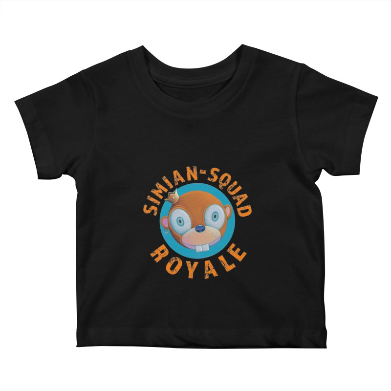 Simian-Squad Royale Kids Baby T-Shirt by Dave Calver's Shop