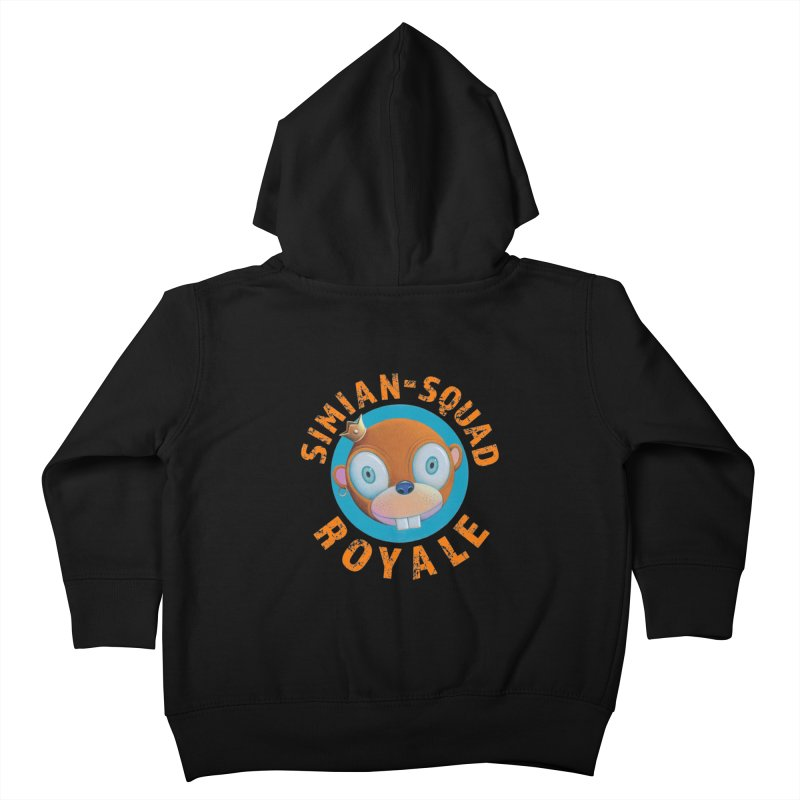 Simian-Squad Royale Kids Toddler Zip-Up Hoody by Dave Calver's Shop
