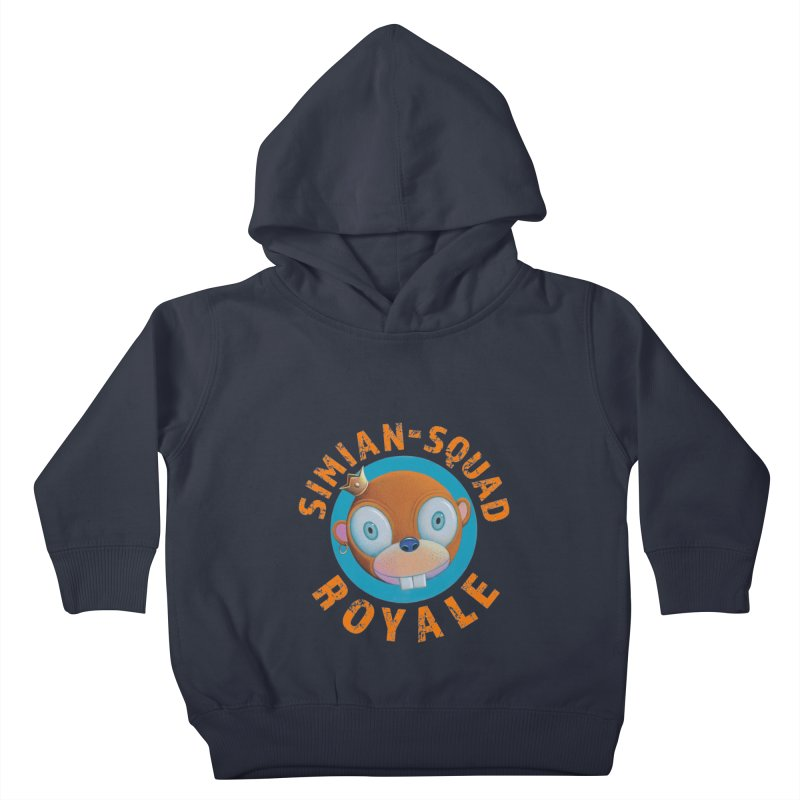 Simian-Squad Royale Kids Toddler Pullover Hoody by Dave Calver's Shop