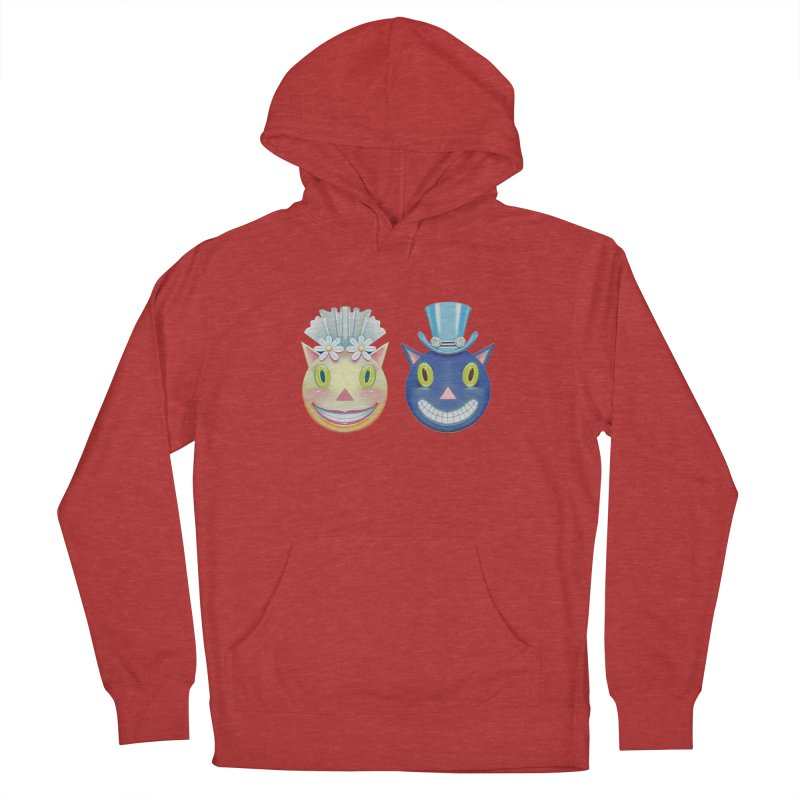 Bride and Groom Women's French Terry Pullover Hoody by Dave Calver's Shop
