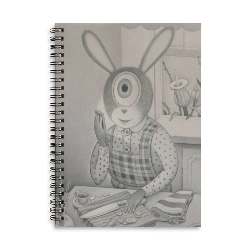Good News, Bad News Accessories Lined Spiral Notebook by Dave Calver's Shop
