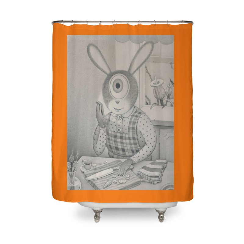 Good News, Bad News Home Shower Curtain by Dave Calver's Shop