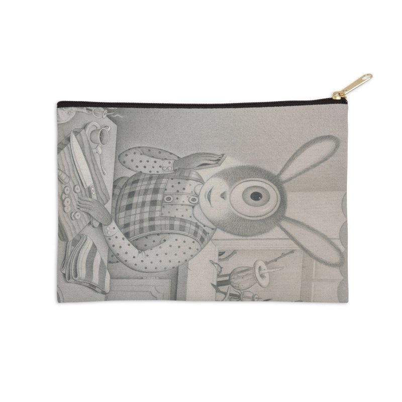 Good News, Bad News Accessories Zip Pouch by Dave Calver's Shop