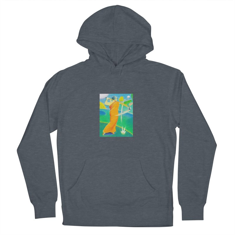 Zen Golfer Women's French Terry Pullover Hoody by Dave Calver's Shop