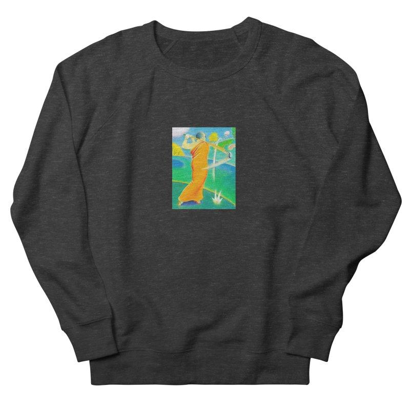 Zen Golfer Women's French Terry Sweatshirt by Dave Calver's Shop