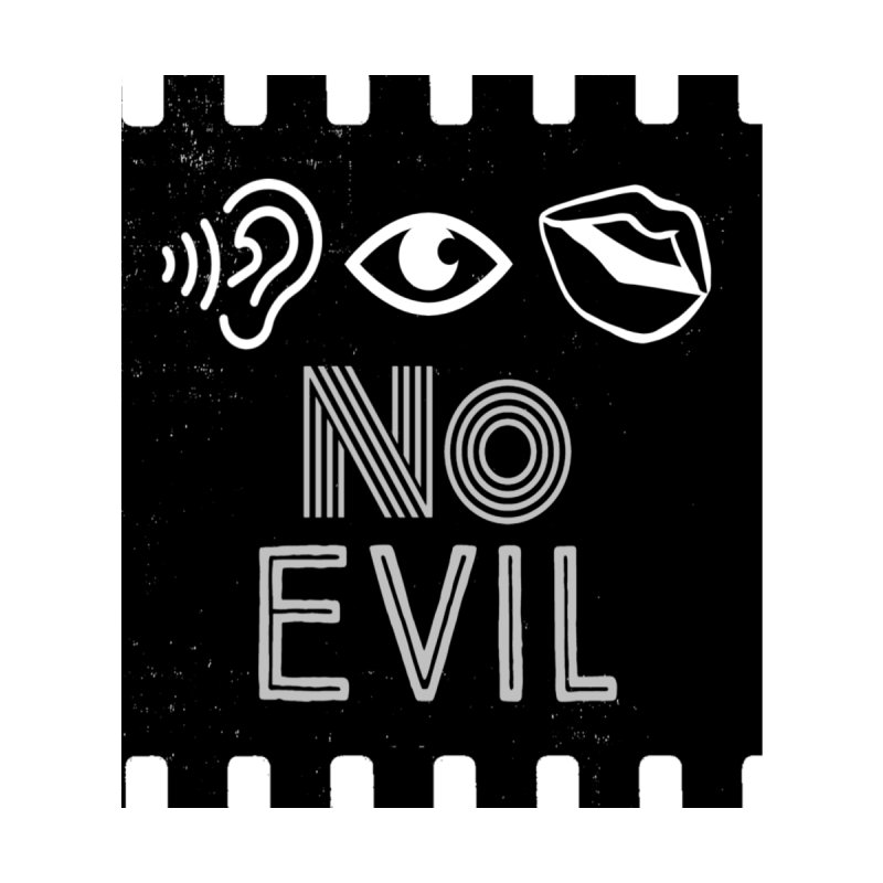 No Evil Graphic Tees T-Shirt by Davi Nevae Creates