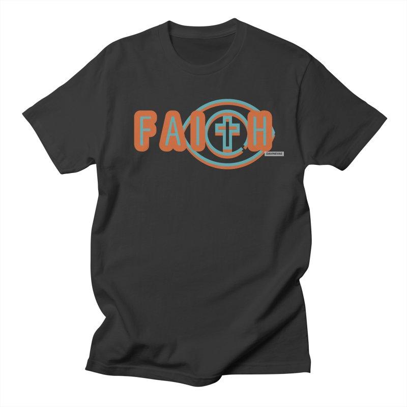 Faith Men's T-Shirt by Davi Nevae Creates