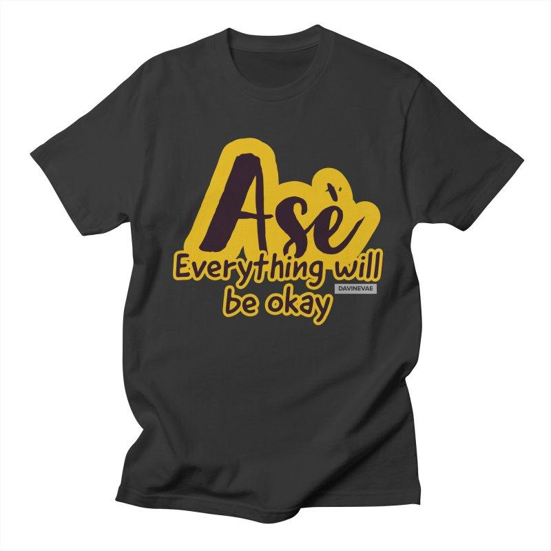 Everything will be okay Men's T-Shirt by Davi Nevae Creates
