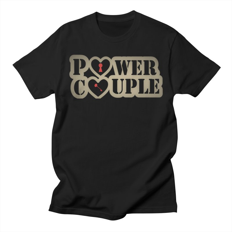 Power Couple Graphic Tees T-Shirt by Davi Nevae Creates