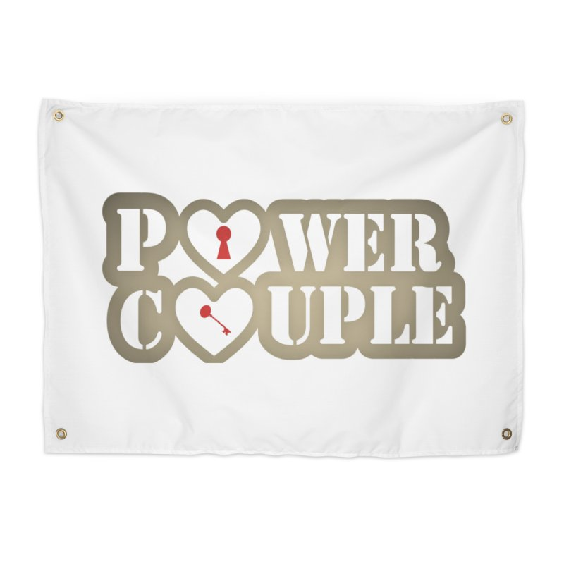 Power Couple Castle Decor Tapestry by Davi Nevae Creates