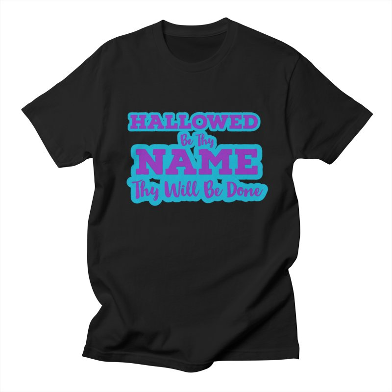 Thy Will be Done Graphic Tees T-Shirt by Davi Nevae Creates