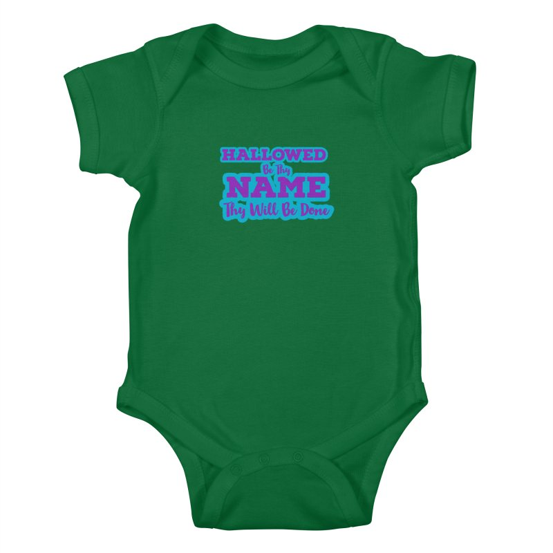 Thy Will be Done Heirs To the Thrown Baby Bodysuit by Davi Nevae Creates