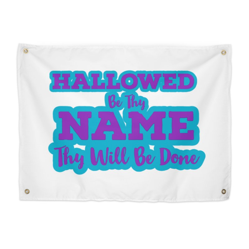Thy Will be Done Castle Decor Tapestry by Davi Nevae Creates