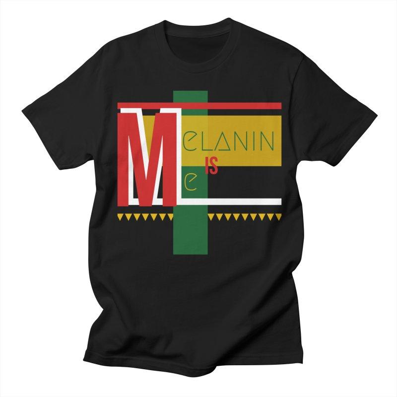Melanin Men's T-Shirt by Davi Nevae Creates