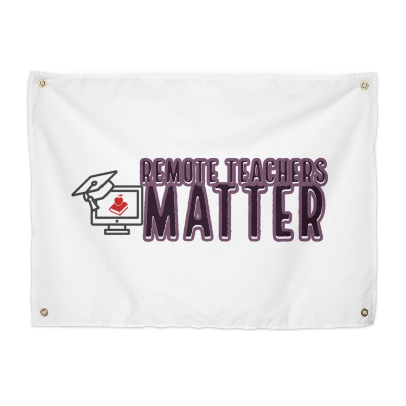 Teachers Matter Castle Decor Tapestry by Davi Nevae Creates