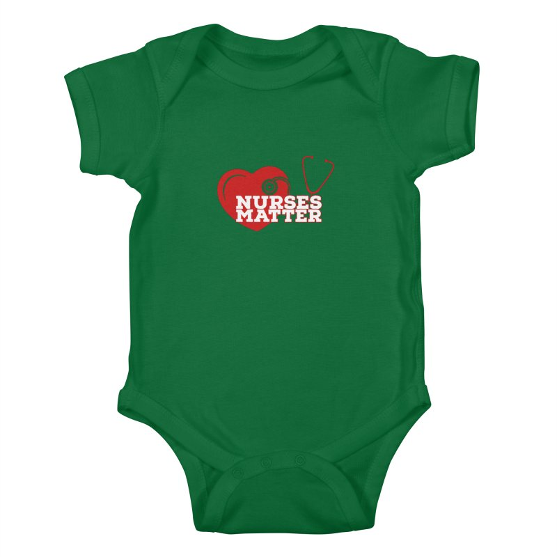 Nurses Matter Heirs To the Thrown Baby Bodysuit by Davi Nevae Creates