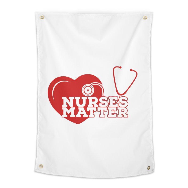 Nurses Matter Castle Decor Tapestry by Davi Nevae Creates